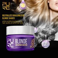 מסכת שיער סילבר הקסם הסגול