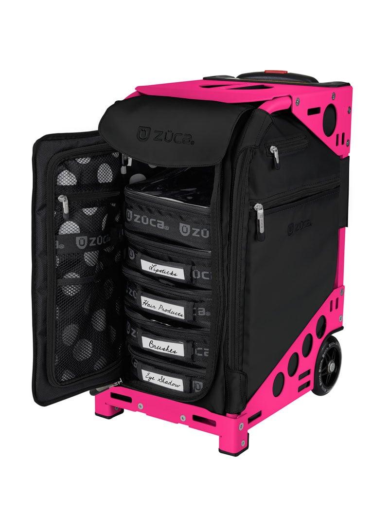 מזוודה על גלגלים 32 ליטר zuka +נרתיקים פנימיים