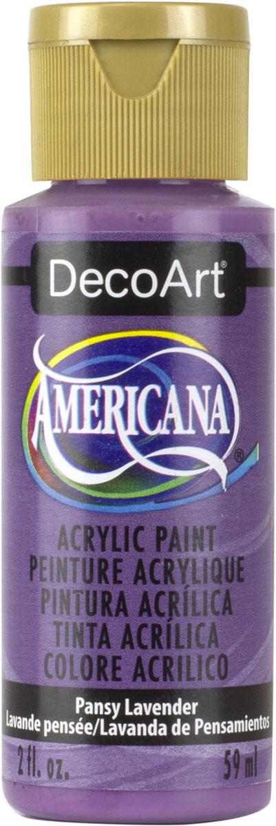 """צבע אמריקנה 59 מ""""ל  Pansy Lavender  DA154"""