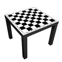 1 יח' טפט דביק מותאם לשולחן (LACK)- שחמט/דמקה