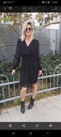 שמלה מעטפה טול ALMHA