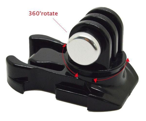 אבזם שחרור מהיר עם  J-HOOK מסתובב ב 360 מעלות למצלמות אקסטרים - jeeper