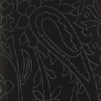 עניבה פייזלי שחור אפור