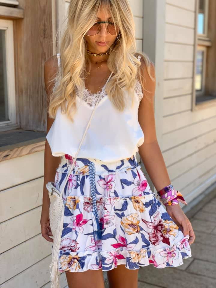 חצאית flower