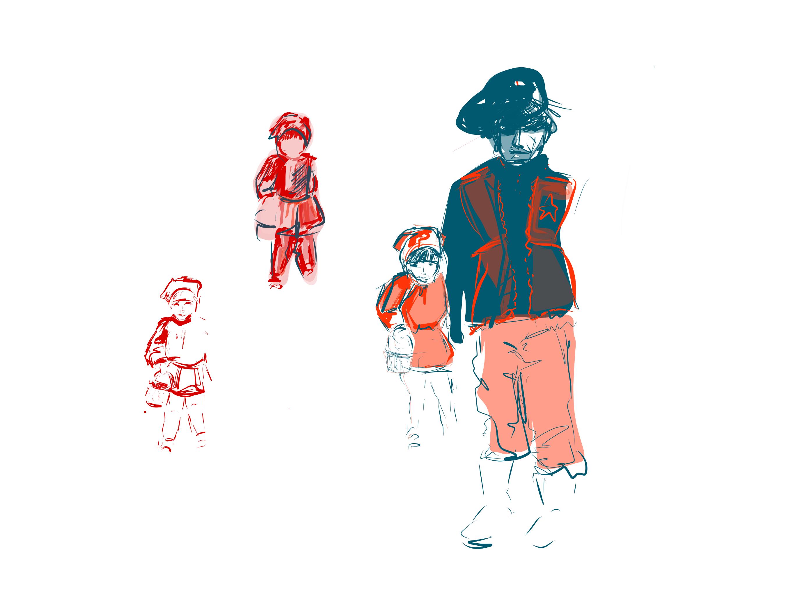 כיפה אדומה וקאובוי