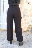 מכנסי רומי מחוייטים אפור