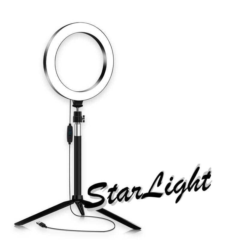 טבעת תאורה לאיפור וצילום – StarLight