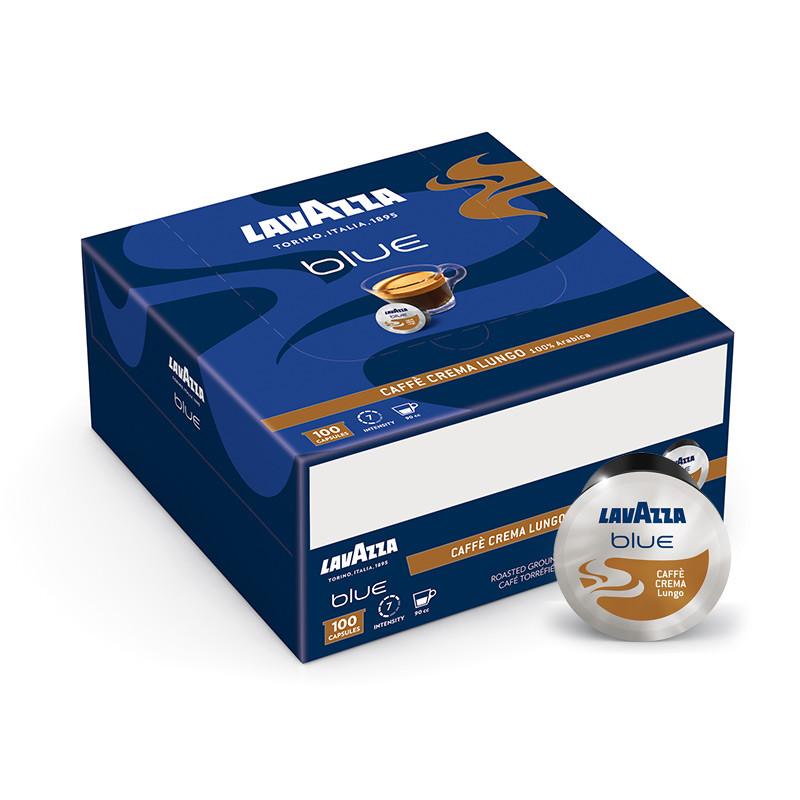 100 קפסולות Lavazza Blue Caffè Crema Lungo