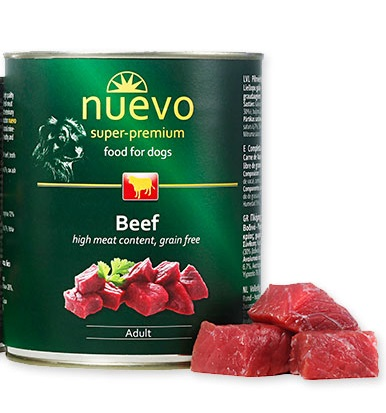 Nuevo מעדן פטה ארוחת בשר בקר 800 גרם