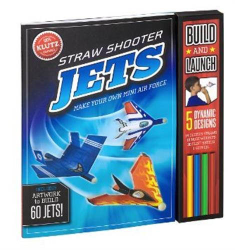 ספר ג'ט סט תעופה - KLUTZ