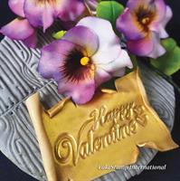 חותמת דגם 1 Happy valentines day