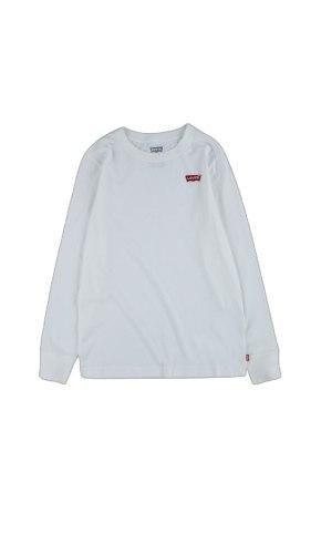 חולצת טישרט לבנה לוגו קטן LEVIS (2-13)
