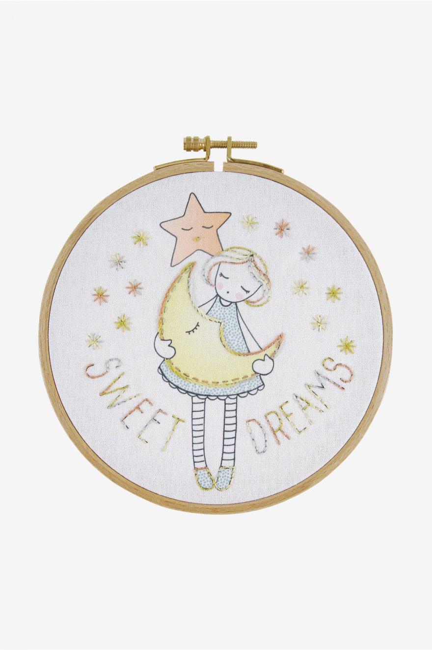 קיט ריקמה לילדים עם חישוק - DMC – חלומות