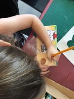 סדנה ציור על בד. הורה וילד מגיל 5 ומעלה