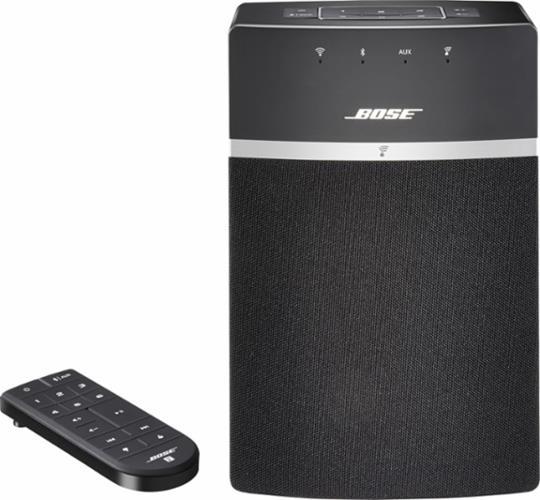 רמקול נייד Bose SoundTouch 10, ליהנות ממגוון מקורות מוסיקה בכל מקום בבית.