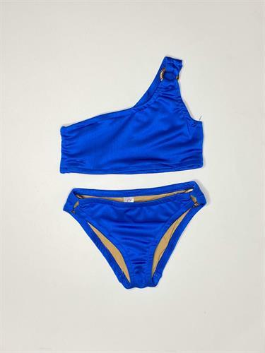 בגד ים כחול שני חלקים COMO MAMA