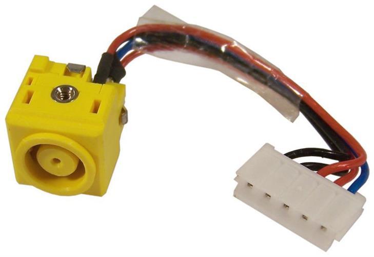 שקע טעינה למחשב נייד לנובו IBM LENOVO T60 R400 R500 R61 R61e R61i R60 R60e DC POWER Jack
