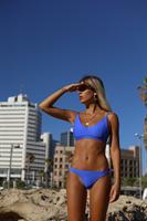 בגד ים ברזילאי - SKY (טופ קנדל / תחתון רובי)