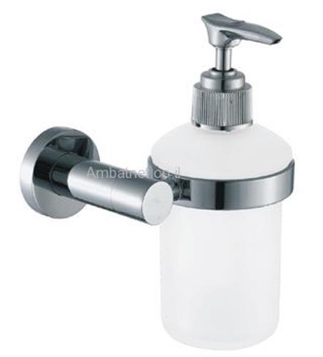 דיספנסר לסבון נוזלי דגם A ניקל מוברש