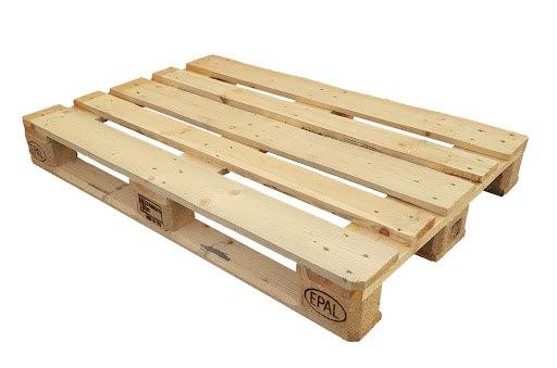 """משטח עץ בגודל 120/80 ס""""מ - דמוי יורו משומש"""