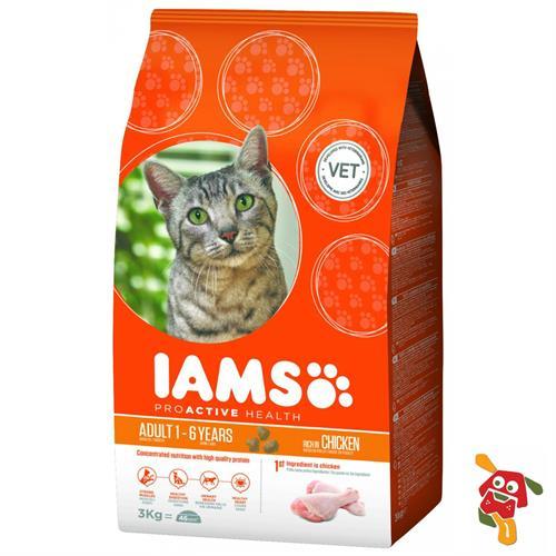 """איימס עוף לחתול 15 ק""""ג"""