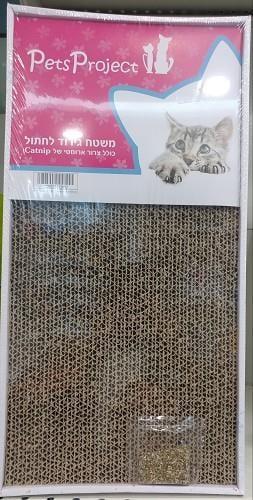 פ.ל מגרד חתול קרטון דו צדדי עם קטניפ