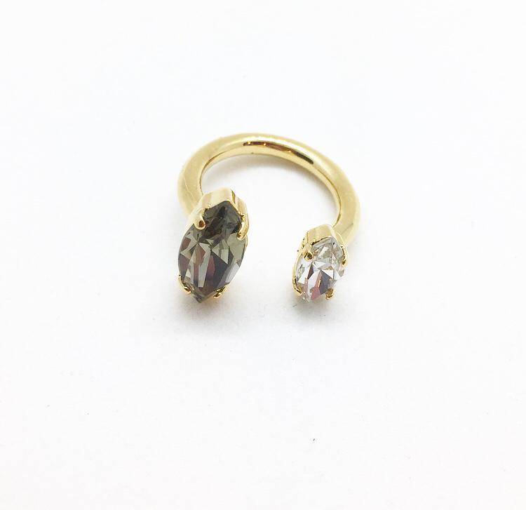 טבעת בילי זהב