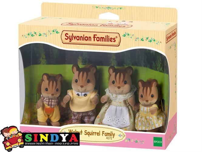 משפחת סילבניאן - משפחת סנאים