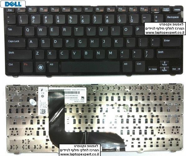 החלפת מקלדת למחשב נייד דל Dell Vostro 3360 Laptop Keyboard  - KNG36
