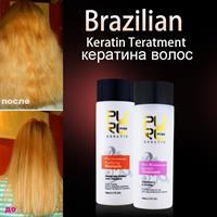 החלקת קראטין ברזילאית - עשי זאת בעצמך