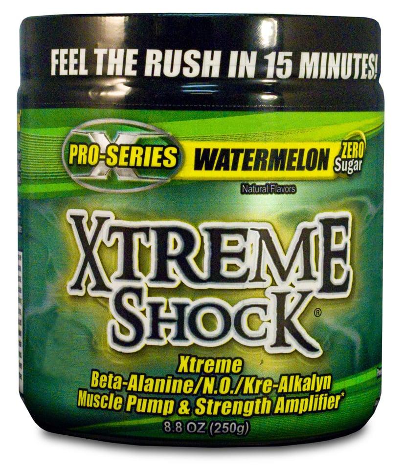 אקסטרים שוק | xtreme shock ממריץ אימון 250 גרם 45 מנות