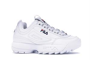 נעלי נשים פילה דיסרפטור פרימיום צבע לבן דגם 5FM00002 125