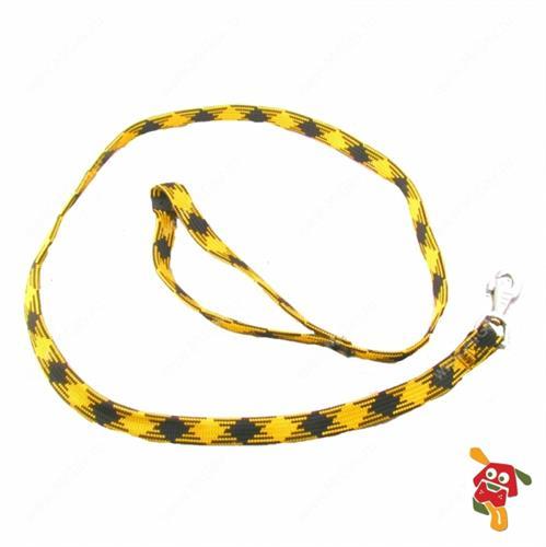 """רצועה לכלב פרפלסט צהוב 120 ס""""מ"""