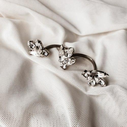 טבעת כפולה גיל- קריסטלים
