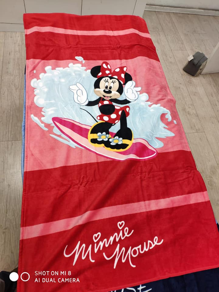 מגבת חוף מני מאוס