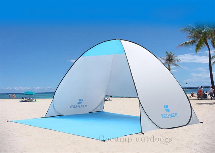 אוהל לקיימפינג ולים נפתח אוטומטית