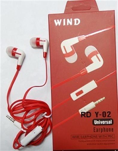אוזניות לטלפון סלולרי Y-02 סיליקון 2 יחידות