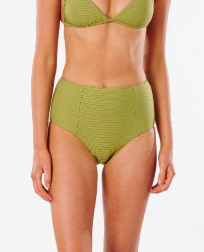 RIP CURL Premium Surf High Waisted Good Coverage Bikini Bottom