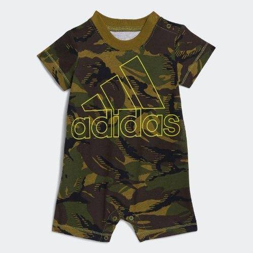 אוברול צבאי ADIDAS תינוקות בנים - 3-24 חודשים