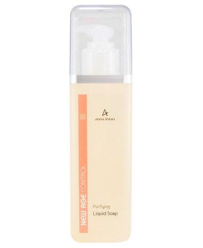 סבון פנים נוזלי מטהר - Anna Lotan New Age Purifying Liquid Soap