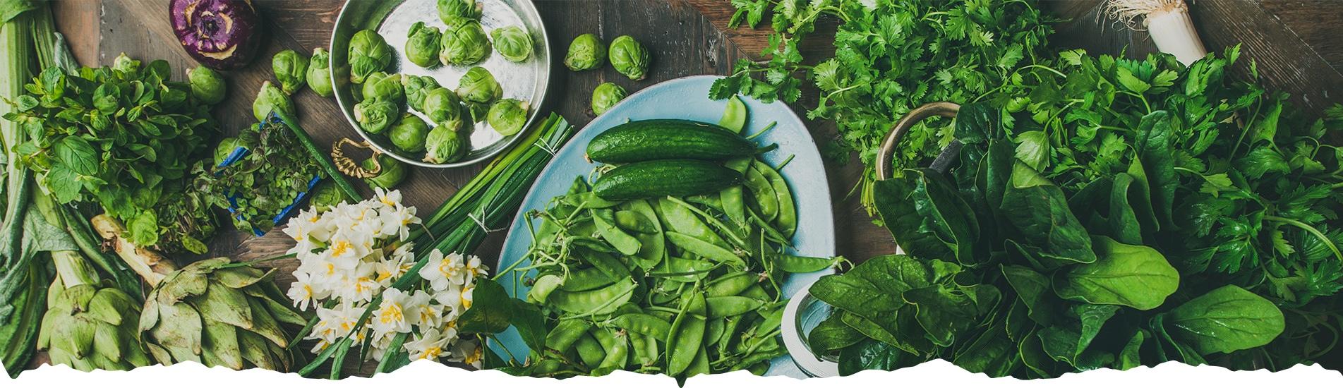 ירק ועלים - משק מיכאלי - סלי ירקות ופירות