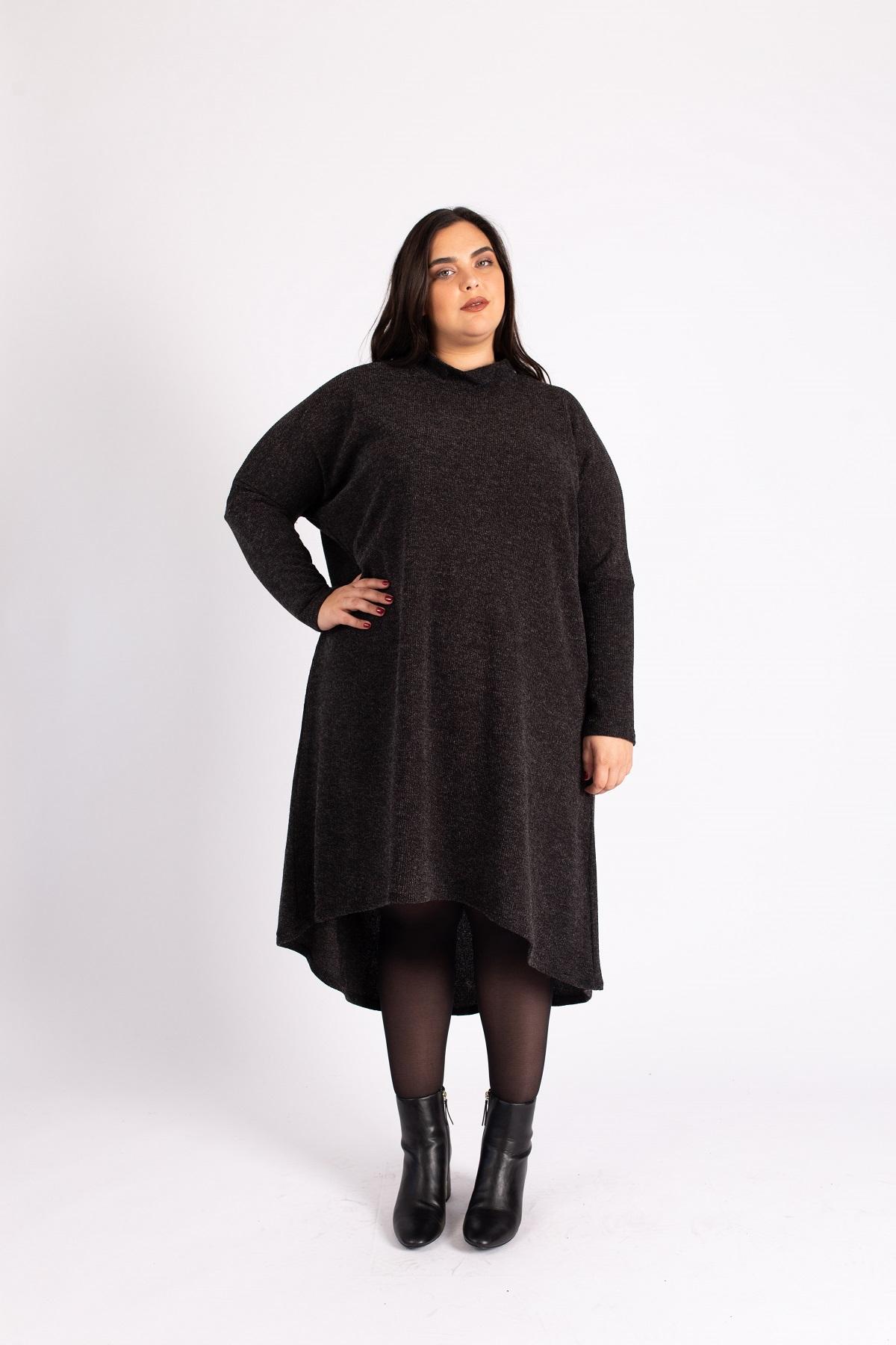 שמלת גלי אפורה