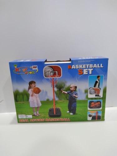 מתקן כדורסל עומד לילדים