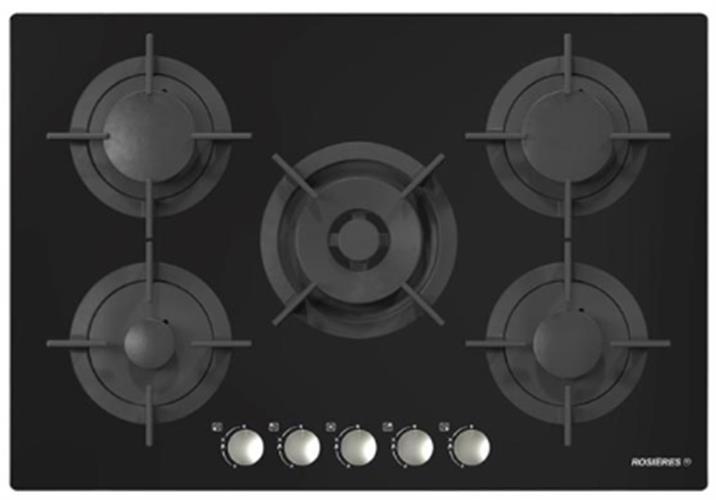 ROSIERES   כיריים ברוחב 75 סמ דגם RGV75WFMPN