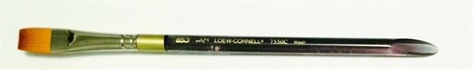 1/2 - Loew Cornell Flat Brush מכחולים שטוחים מקצועיים