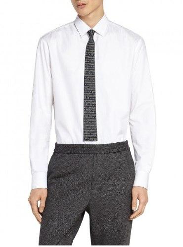 חולצה Salvatore Ferragamo לגברים OFF WHITE