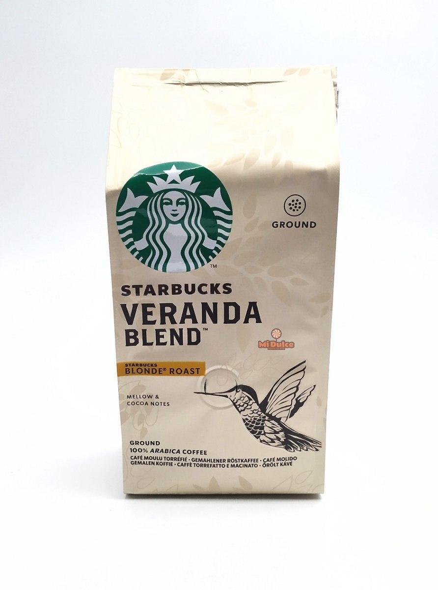 Starbucks Veranda Blend קפה טחון קלוי