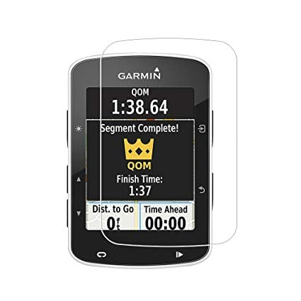 מגן מסך זכוכית Garmin Edge 520 / 520 PLUS - סט 2 יחידות