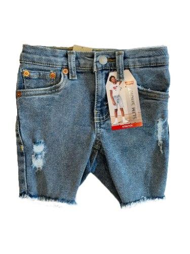שורט ג'ינס בנים LEVIS FLEX בהיר 2-16