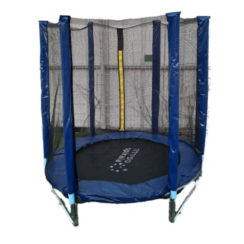 טרמפולינה מקצועית כולל רשת הגנה פנימית וכיסוי מגן לקפיצים, קוטר 1.40 מטר, 4.5 פיט - קפיץ קפוץ